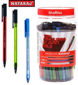 Natraj Pens - Pack of 100 Pens