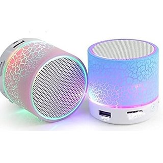 Wireless bluetooth speaker rechargable outdoor light speaker with led light support sd card with all smartphones
