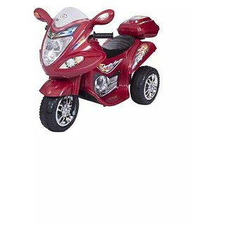 Oh Baby, Baby Battery Operated Bike Red Color With Musical Sound And Back Basket For Your Kids SE-BOB-02