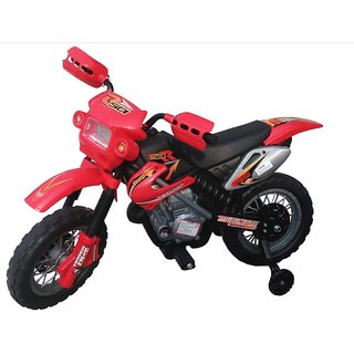 Oh Baby Baby Battery Operated And Duke Model Bike Red Color With Musical Sound For Your Kids SE-BOB-10