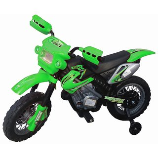 Oh Baby, Baby Battery Operated And Duke Model Bike Red Color With Musical Sound For Your Kids SE-BOB-11