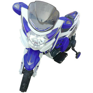 Oh Baby Baby Battery Operated Yamaha R15 Model Bike Biue Color With Musical Sound For Your Kids SE-BOB-18