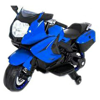 Oh Baby, Baby Battery Operated BMW Model Bike BLUE Color With Musical Sound For Your Kids SE-BOB-22