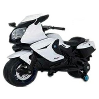 Oh Baby, Baby Battery Operated BMW Model Bike WHITE Color With Musical Sound For Your Kids SE-BOB-24
