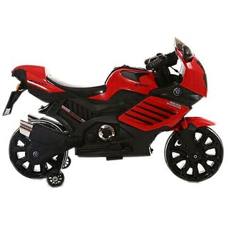 Oh Baby Baby Battery Operated ZMR Model Bike RED Color With Musical Sound For Your Kids SE-BOB-25