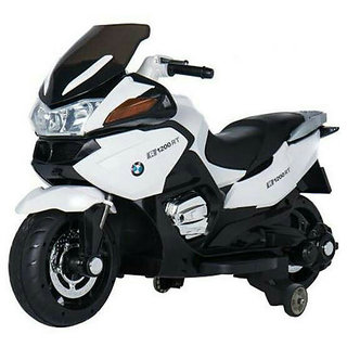 Oh Baby Baby Battery Operated BMW 1200RT Model Bike WHITE Color With Musical Sound For Your Kids SE-BOB-30