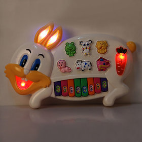 Funny Rabbit Musical Light Voice Piano For Kids