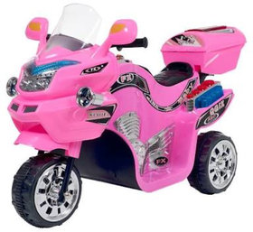 Oh Baby, Baby Battery Operated Bike Assorted Color With Musical Sound And Back Basket For Your Kids SE-BOB-47