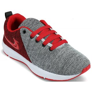 131da314cf8 Buy Clymb Classic Red Grey Sports Running Shoes For Men s In Various ...