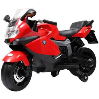 OhBaby Battery Operated BMW Lincesed Red Bike- 3-5yrs