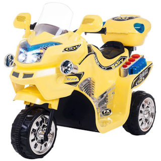 Oh Baby, Baby Battery Operated Bike Assorted Color With Musical Sound And Back Basket For Your Kids SE-BOB-44