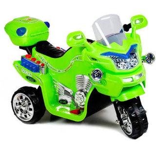 Oh Baby, Baby Battery Operated Bike Assorted Color With Musical Sound And Back Basket For Your Kids SE-BOB-45