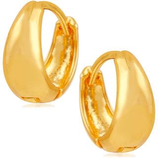 Mahi Gold Plated Glamorous Bali Earrings For Boyen Er1109459gmen
