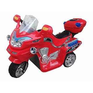 Oh Baby, Baby Battery Operated Bike Assorted Color With Musical Sound And Back Basket For Your Kids SE-BOB-51