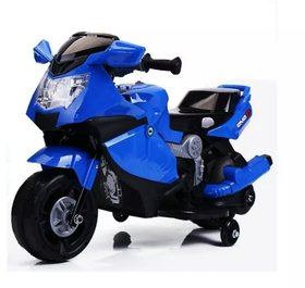 OhBaby, Baby Battery Operated BMW Model Bike Assorted Color With Musical Sound (SE-BOB-58)