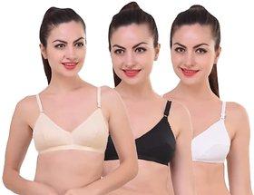 sparkle padded Multi bra pack of 3