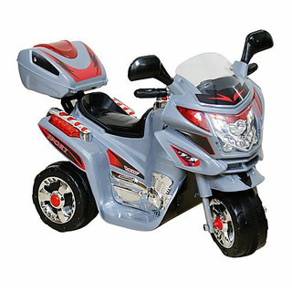 Oh Baby, Baby Battery Operated Bike Assorted Color With Musical Sound And Back Basket For Your Kids SE-BOB-53