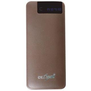 Callmate RCM6 Power Bank 15000 mAh 3 USB Port and Digital Display Brown