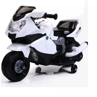 OhBaby, Baby Battery Operated BMW Model Bike Assorted Color With Musical Sound (SE-BOB-57)
