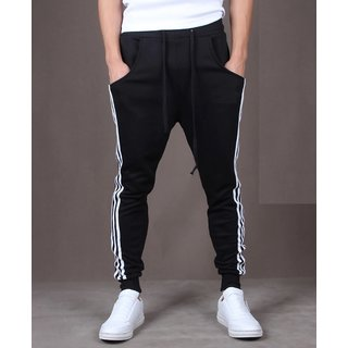 ToYouth Men Black Sports Joggers