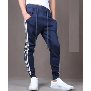 ToYouth Men Navy Sports Joggers