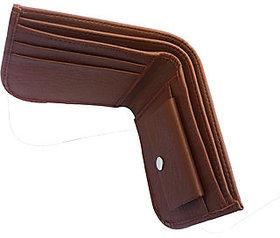 Bi-Fold Italian Men's Artificial Leather Wallet