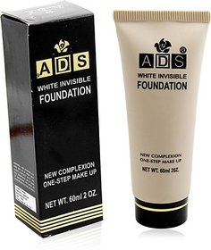 ADS white invisible foundation