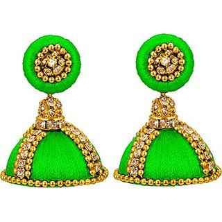 5c6f1f1d0 Buy silk thread designer earring for girls Online - Get 50% Off