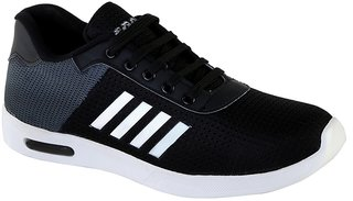 Men's Black Sports Shoes