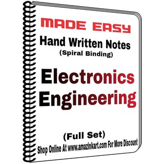 Electrical Engineering Made Easy Class Notes Full Set With Spiral