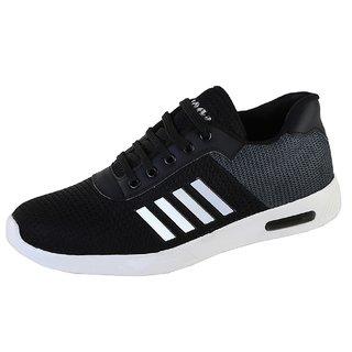 Zappy Men's Black Running Shoes