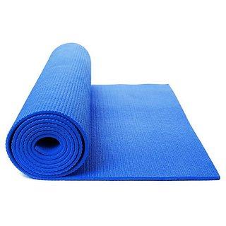 High Quality Yoga Mat - Blue 4mm