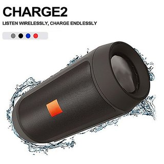 Charge 2 Plus Bluetooth Wireless Speaker compatible with all Bluetooth Devices