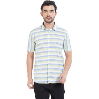 Deezeno Horizontal Striped Shirt for Men