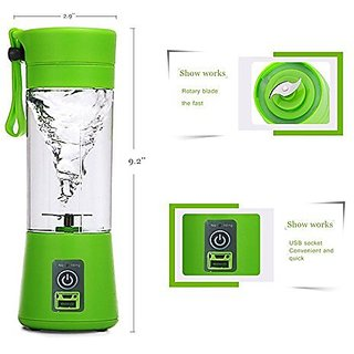 Portable Usb Electric Juicer Mixer Grinder Juice Blender Juice Cup ( Assorted Color )