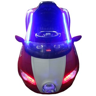 Oh Baby, Baby Battery Operated LED Light Car Red Color With Remote Control For Your Kids SE-BOC-16