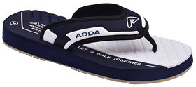 Adda Comfortable Navy Color Flipflops For Men