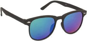 Arzonai Black Colorify Wayfarer UV Protection Sunglasses For Men & Women [MA-301-S6 ]