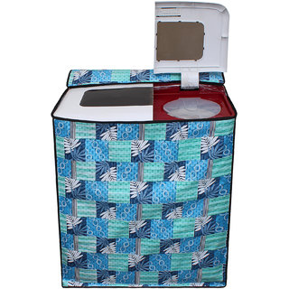 Dream Care Waterproof Multicolor Printed Semi Automatic Washing Machine Cover for 7kg to 8.5kg