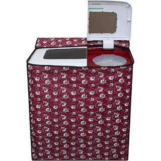 Dream Care Waterproof Multicolor Printed Semi Automatic Washing Machine Cover for BPL BSATL65N1 6.5 kg