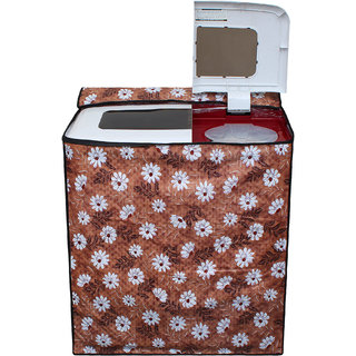 Dream Care Waterproof Multicolor Printed Semi Automatic Washing Machine Cover for LG P8539R3SM 7.5 kg