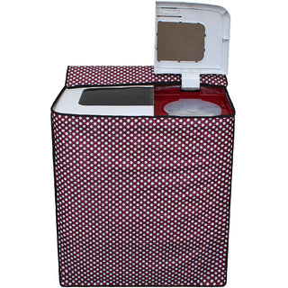 Dream Care Waterproof Multicolor Printed Semi Automatic Washing Machine Cover for 8kg to 9.5kg