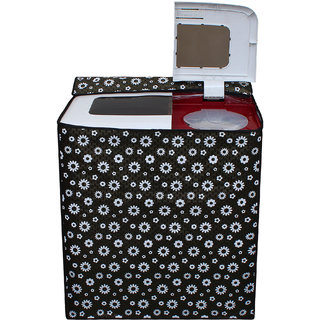 Dream Care Waterproof Multicolor Printed Semi Automatic Washing Machine Cover for Intex WMS62TL 6.2 kg