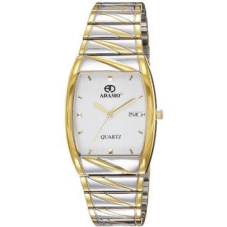 ADAMO Legacy Day Date Mens Wrist Watch 9315BM01