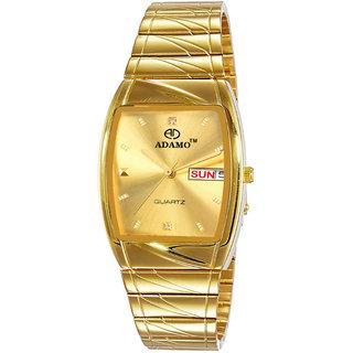 ADAMO Legacy Day Date Mens Wrist Watch 9315YM04