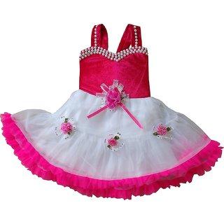 Prince & Princess Baby Girl's Velvet Party Dress