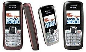 Nokia 2610  /Good Condition/Certified Pre- Owned (6 Month Warranty Bazaar Warranty)