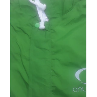 Ladies Short Length Reversible Raincoat With Belt (L Size,36 Length,20 Shoulder)