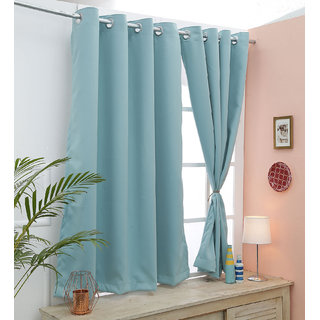 485956423b72d5 Buy Cliths 2 Panels Premium Quality Room Darkening IcyMorn Blackout Curtains  (LongDoor- 4.5 x 9 ft) Online - Get 37% Off
