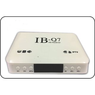 IB - Q7 Mpeg 4 HD TV Free to air Satellite Receiver Set-Top-Box WiFi (No  Monthly Recharge) 2 USB Port + 1 HDMI Port